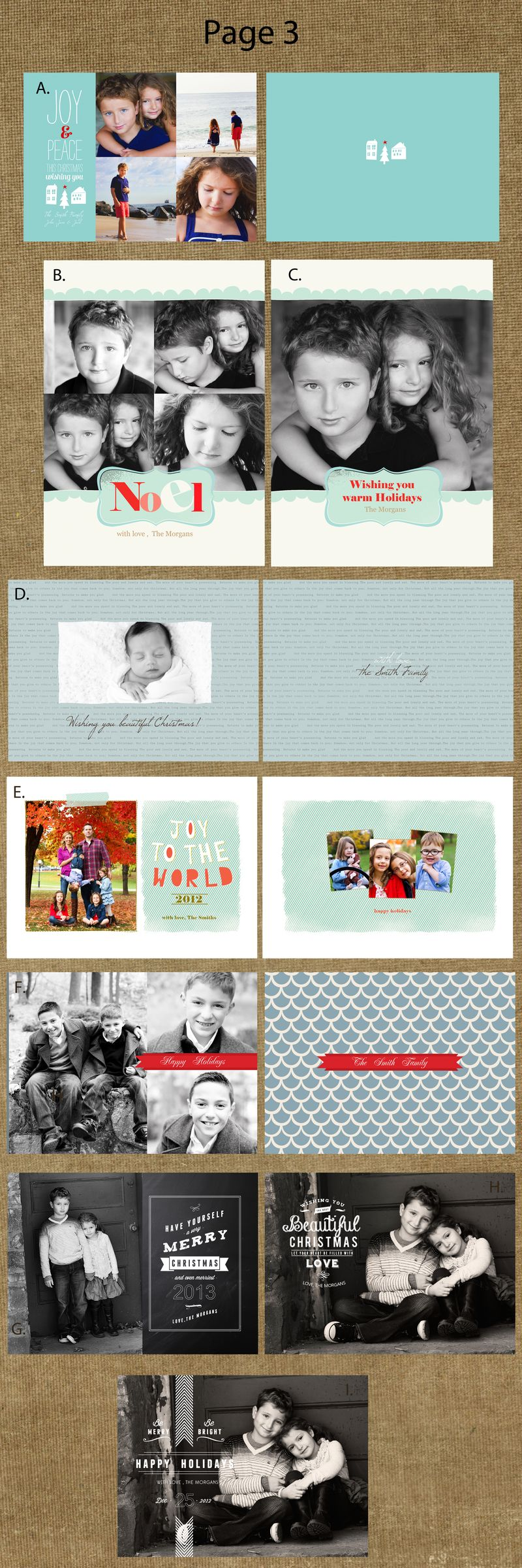 Page 3cards
