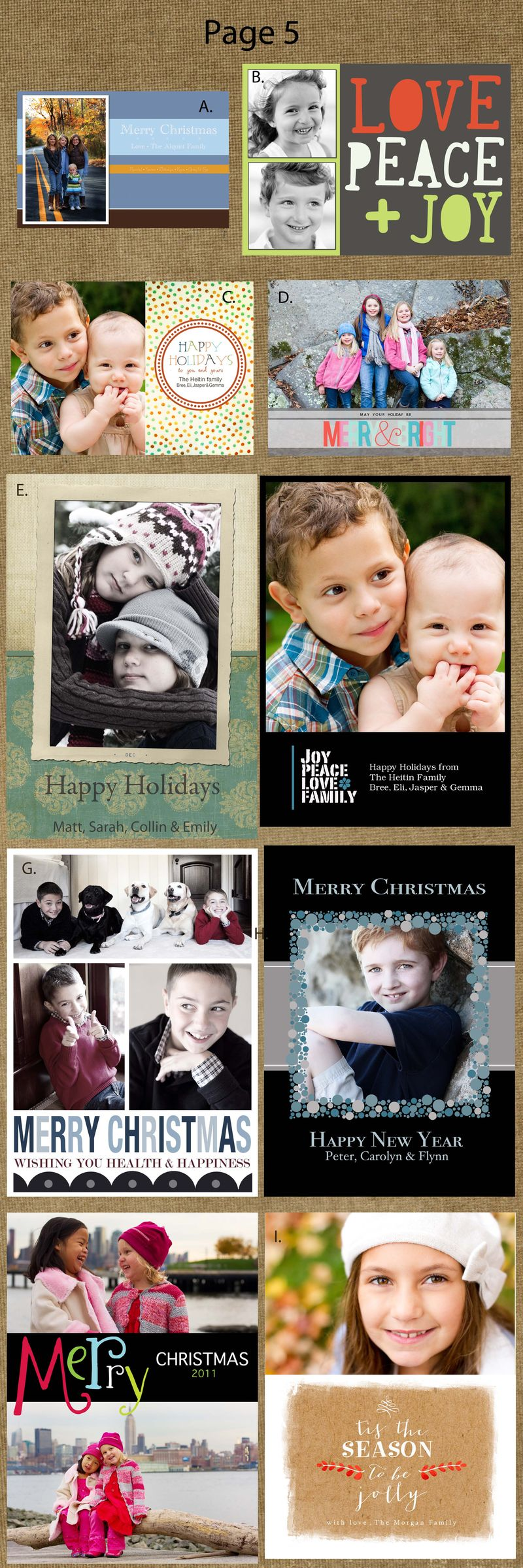 Page 5cards