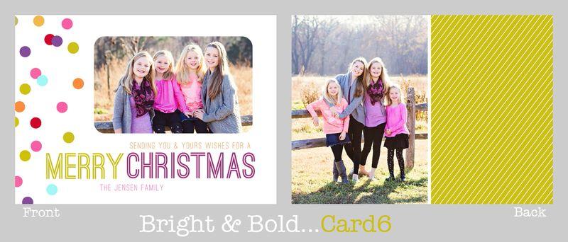 Bright & bold 6 board