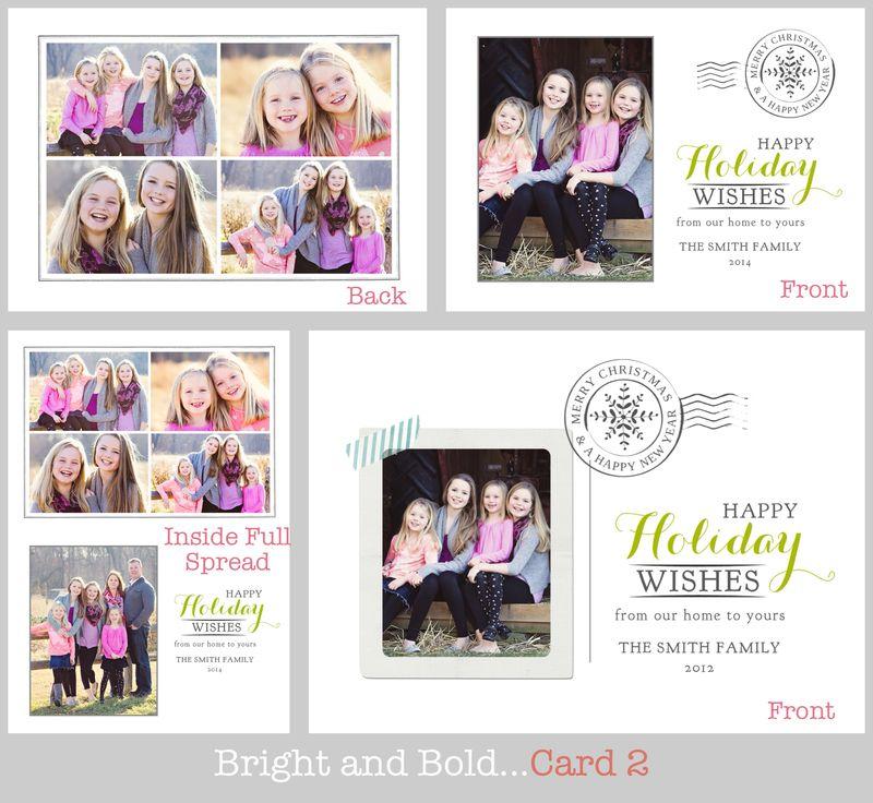Bright and bold card 2 board