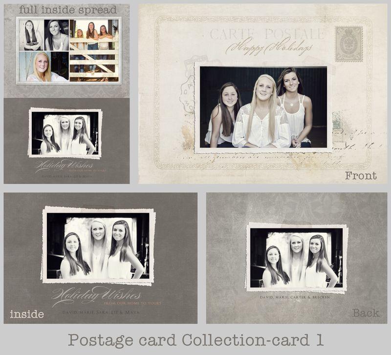 Postage card 1 board